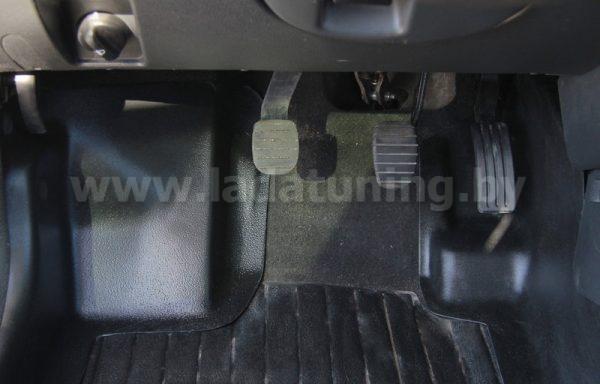 Накладки на ковролин передние с подпяточником (2шт.) Renault Duster (Дастер) после 2015 г.в.