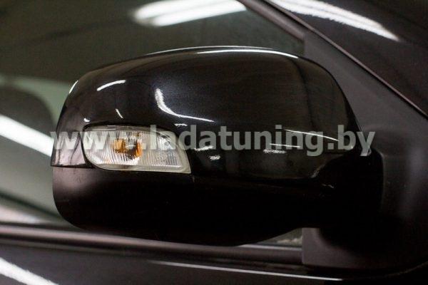 Накладки на зеркала для Renault Logan