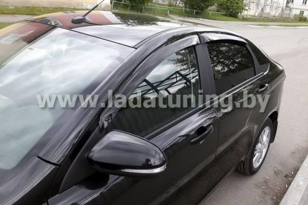 Дефлекторы (ветровики) накладные для Lada Vesta