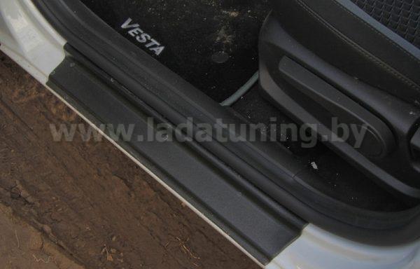Накладки в проем дверей (4шт.) LADA Vesta Sedan (Лада Веста Cедан) с 2016 г.в.