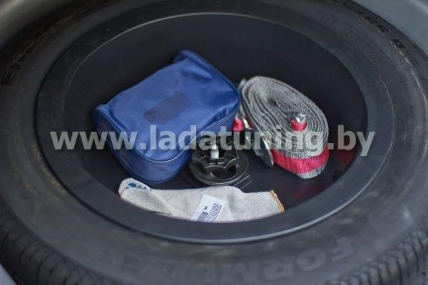 Органайзер-вставка в нишу запасного колеса Renault Logan 2