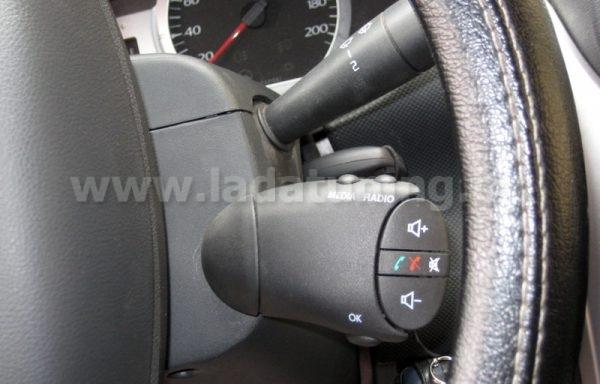 Подрулевой джойстик магнитолы для LADA Largus (Лада Ларгус) и Renault Logan (Рено Логан)
