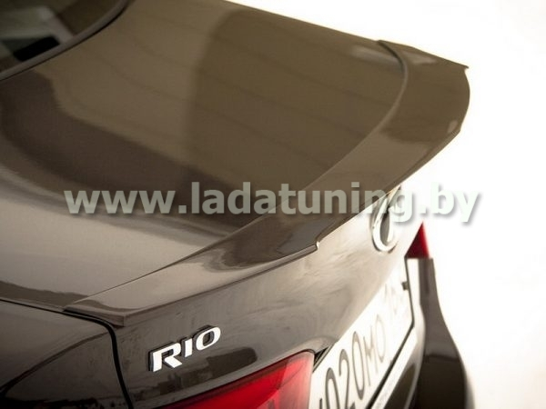 Спойлер-лип на крышку багажника для KIA Rio Sedan