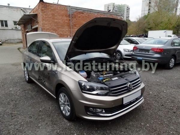 Амортизаторы (упоры) капота для VW Polo c 2009 г.в.
